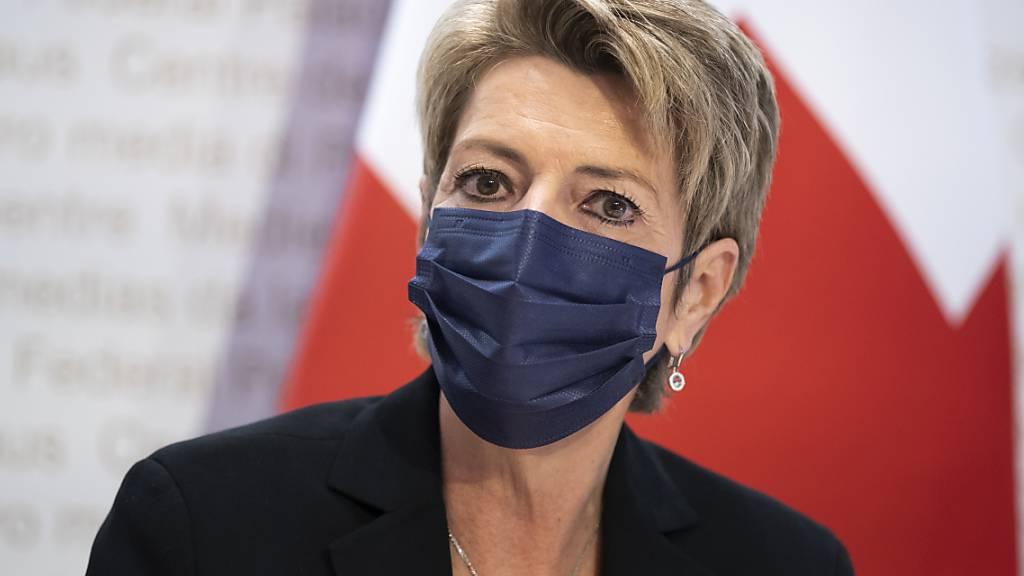 Der Stategische Dialog «Häusliche Gewalt» fand auf Einladung von Justizministerin Karin Keller-Sutter statt. (Archivbild)