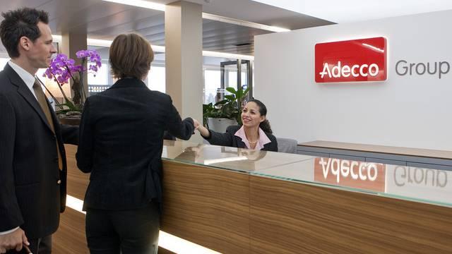 Der weltgrösste Stellenvermittler Adecco startet gut ins Jahr (Archiv)
