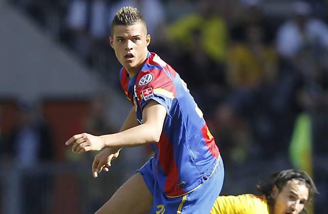 Granit Xhaka wird auf die neue Saison zu Borussia Mönchengladbach wechseln.