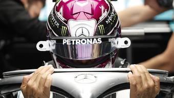 Lewis Hamilton sorgte mit dem neuen Lenkrad für Aufregung