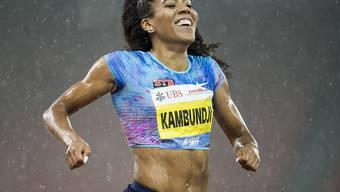 Zuletzt glänzend in Form: Sprinterin Mujinga Kambundji