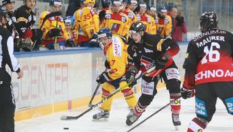 Der EHC Basel unterliegt im ersten Spiel des Halbfinals gegen Dübendorf.