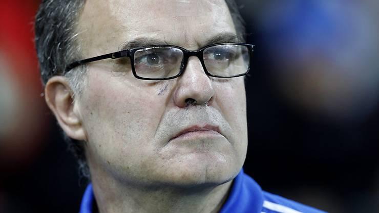 Ehrenmann: Leeds' Trainer Marcelo Bielsa ist der Befehlsgeber der Fairplay-Aktion. (Archivbild)