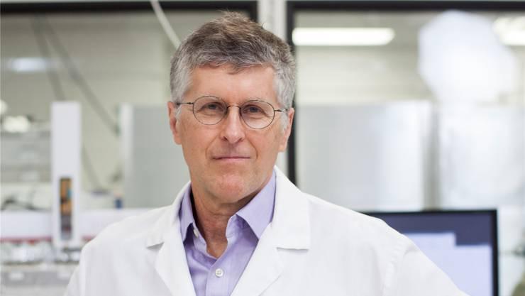 «Ich mache mir eigentlich nicht viel aus Essen», sagt Patrick Brown, Professor für Bio-Chemie.