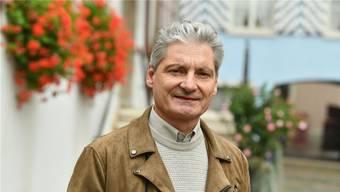 Alexander Imhof, Stadtpräsident von Laufen: «Vor der Sanierung war die Weststrasse mehr oder weniger ein Feldweg.» (Archivbild)
