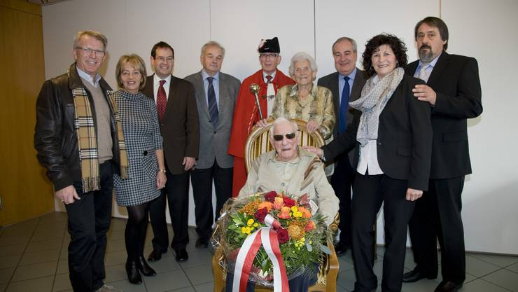 100. Geburtstag von Werner Scheidegger-Leuenberger