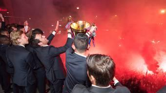 Die Meisterfeier des FC Basel