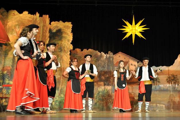Die kalabrische Tanzgruppe