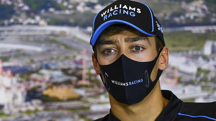 George Russell sitzt auch im nächsten Jahr in einem Formel-1-Auto von Williams