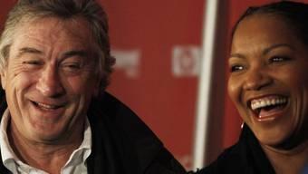 Grund zur Freude: Robert De Niro mit seiner Frau Grace Hightower (Archiv)