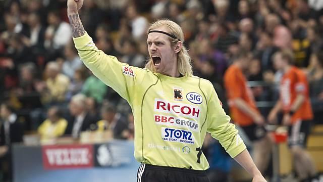Kadetten-Goalie Gustavsson avancierte zum Matchwinner