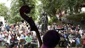 Die Fête de la Musique in Genf lockte während drei Tagen über 200'000 Zuschauerinnen und Zuschauer an.  (KEYSTONE/Martial Trezzini)