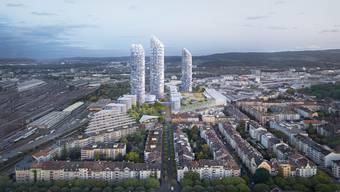 Wohnareale der Zukunft in Basel
