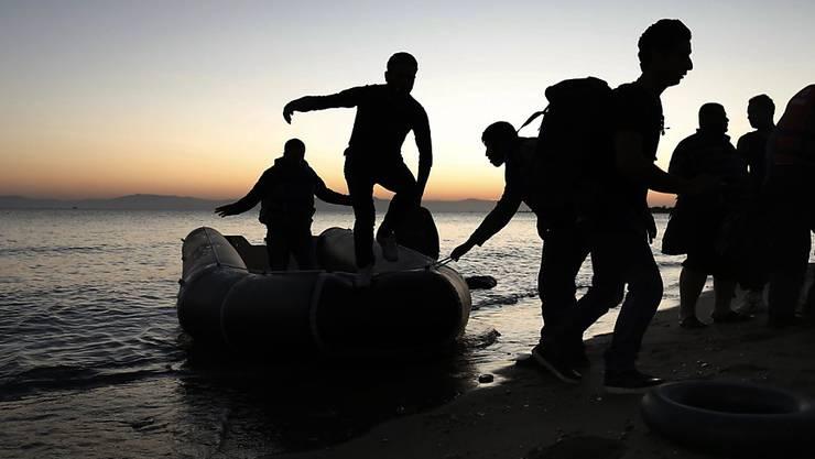 Seit Jahresbeginn sind nach amtlichen Angaben an Italiens Küsten mehr als 50'000 Flüchtlinge angekommen.