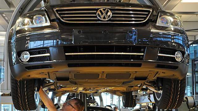 VW wendet Arbeitskampf erfolgreich ab (Archiv)