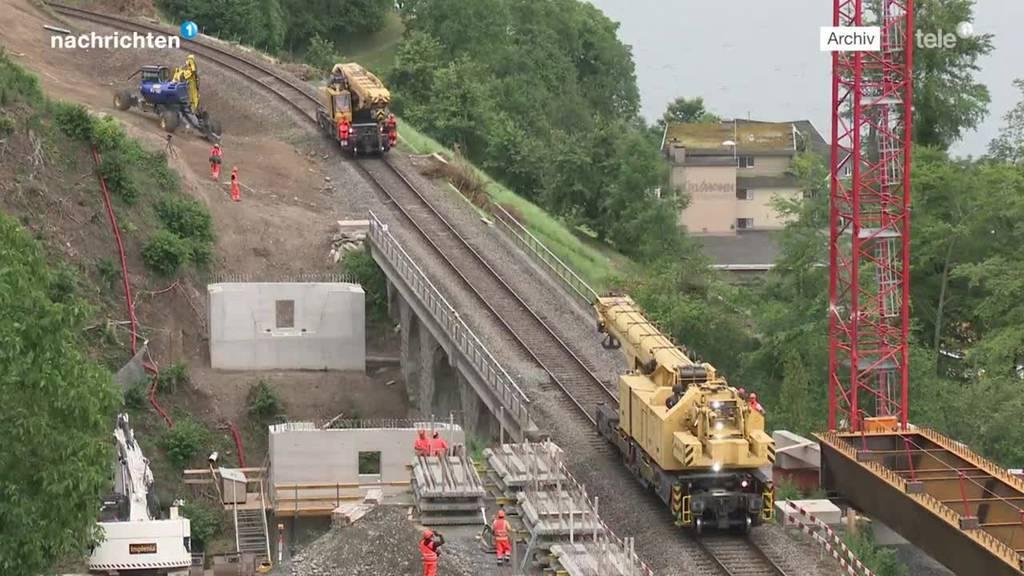 Kaum offen – schon voller Pannen: SBB-Strecke bei Walchwil