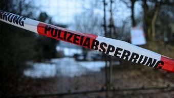 Die Polizei fand die Ursache des Unglücks in einem Gartenhäuschen in Arnstein (Archiv)