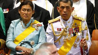 König von Thailand Bhumibol Adulyadej Tod