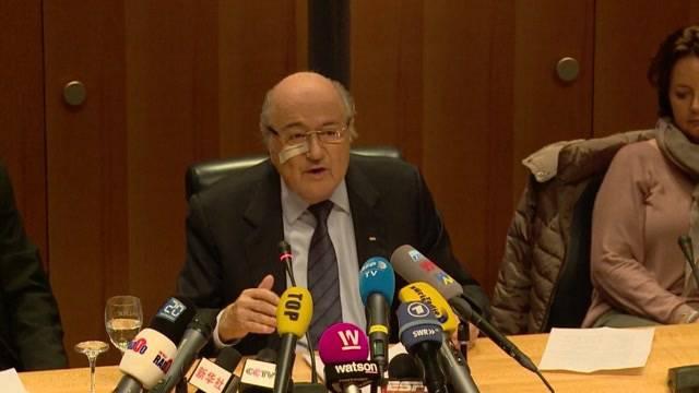 """Sepp Blatter akzeptiert """"seine"""" Sperre nicht"""