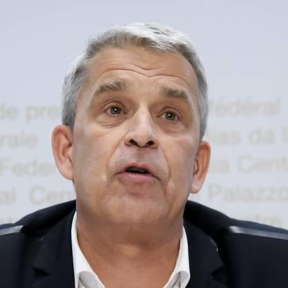 Christoph Berger Präsident der Eidgenössischen Kommission für Impffragen