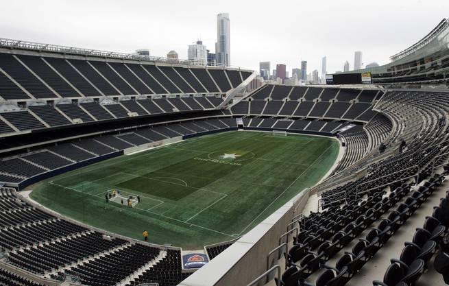 Das Soldier Field: Hier trägt Chicago Fire in dieser Saison seine Heimspiele aus.