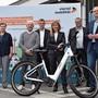 Die Projektverantwortlichen präsentierten am Steiner Bahnhof ihre «Bike-Sharing»-Idee. Erstes Risottoessen der CVP.