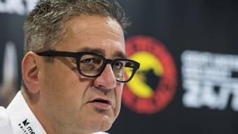 SCB-Geschäftsführer Marc Lüthi ist ein Mann das Geldes, nicht des Sports. Sein Klub liegt aktuell auf dem neunten Tabellenrang.