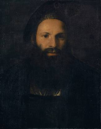 Tizian (?) zugeschrieben. «Bildnis des Pietro Aretino». (zvg)