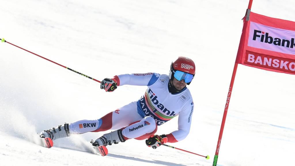 Loic Meillard auf Platz 2 – Matthieu Faivre führt im 1. Lauf
