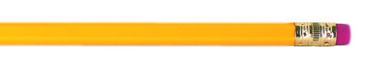 Manche Bleistifte haben an einem Ende praktischerweise einen kleinen Radiergummi. Er wird aber nicht einfach angeklebt, sondern ist durch eine Metallhülse mit dem Stift verbunden. Wie heisst diese Hülse? Kleiner Tipp: Sie nennt sich genauso wie die Metallhülse, die den Pinsel mit seinen Borsten verbindet. «Ferrule» ist die richtige Bezeichnung. Eigentlich ist das nur das englische Wort für «Manschette», «Hülse», «Zwinge» oder auch «Ringbeschlag», dennoch hat es sich auch im deutschsprachigen Raum für ebendieses Metalldings durchgesetzt.