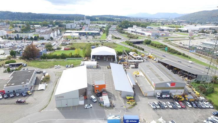 Die Franzosen haben in Oftringen Grosses vor. Sie wollen auf dem Areal unmittelbar neben der A1 eine neue Recycling-Halle aufstellen. Die Paprec-Gruppe beschäftigt weltweit 8000 Mitarbeiter.