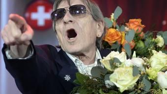 """Dank dem """"SwissAward"""" ist Polo Hofer derzeit auf allen Kanälen präsent. Beste Gratiswerbung also - und nicht nur: Für sein Erscheinen auf der Zeremonie verlangte er Lohn. (Archivbild)"""