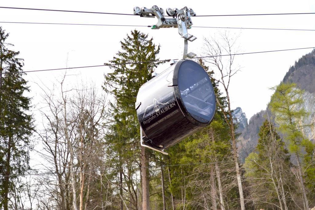 Am Karfreitag, 19. April 2019, wird die Staubernbahn ihren Betrieb wieder aufnehmen – mit neuen Kabinen. (© pd)