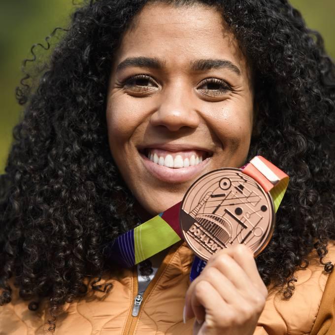 Mujinga Kambundji holt Bronze an der Leichtathletik WM