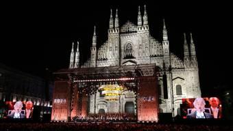 Mailand eröffnet die Weltausstellung, Expo 2015