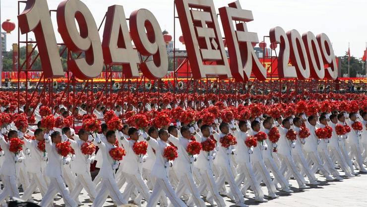 Von 1949 bis 2009: China feiert das 60-jährige Bestehen der Kommunistischen Herrschaft.