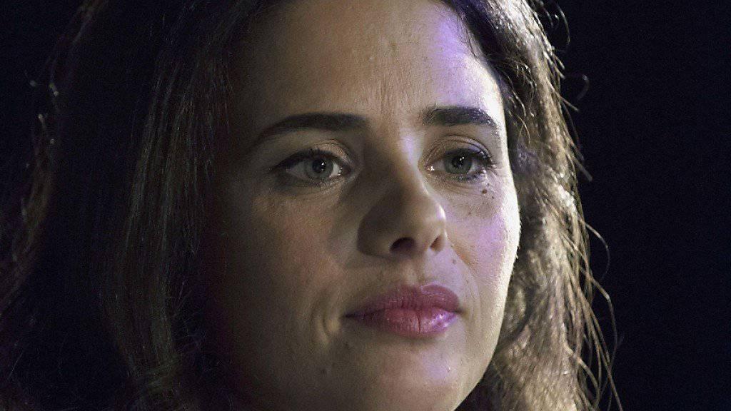Verteidigt umstrittenes neues «Transparenz»-Gesetz: Israels Justizministerin Ayelet Shaked (Archiv)