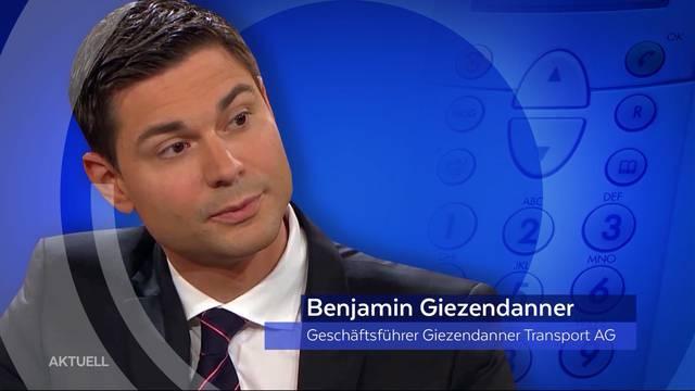 Benjamin Giezendanner am Prozesstag: «Heute kommt alles noch einmal hoch»