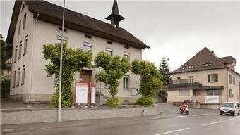 Das Leimbacher Gemeindehaus. (Archiv)