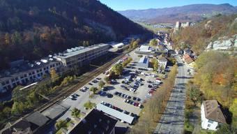 Das Modell zum Projekt Verkehrsanbindung Thal