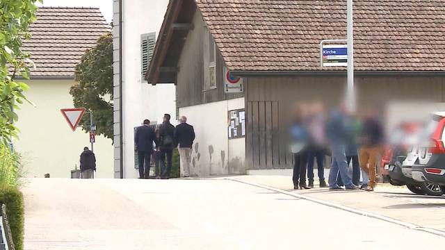 Nach der Verhaftung im Vierfachmord Rupperswil: 160 Eltern von Fussball-Junioren treffen sich in Sarmenstorf