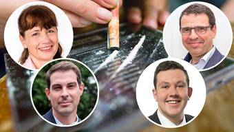 Die Aargauer Freisinnigen sind sich bei der Legalisierung von Drogen nicht einig.