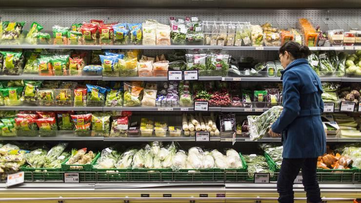 In der Migros in Baden kann einige Wochen lang kein Gemüse gekauft werden.