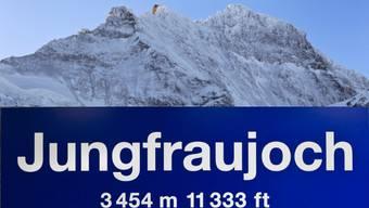 Jungfraujoch: Neuer Erlebnisstollen auf 3500 Metern über Meer eingeweiht.