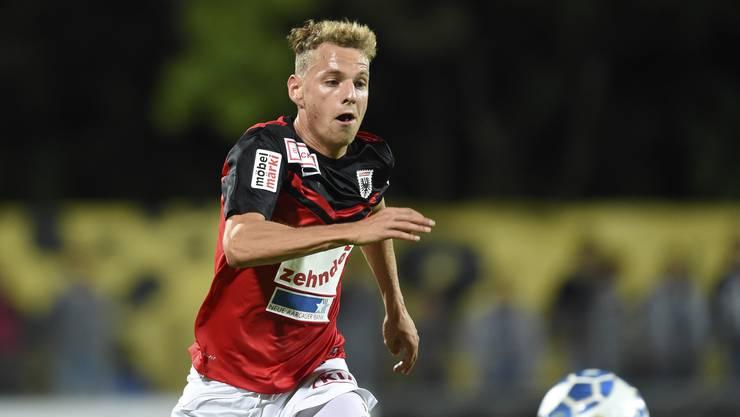 Olivier Jäckle hat beim FC Aarau bis 2018 verlängert.