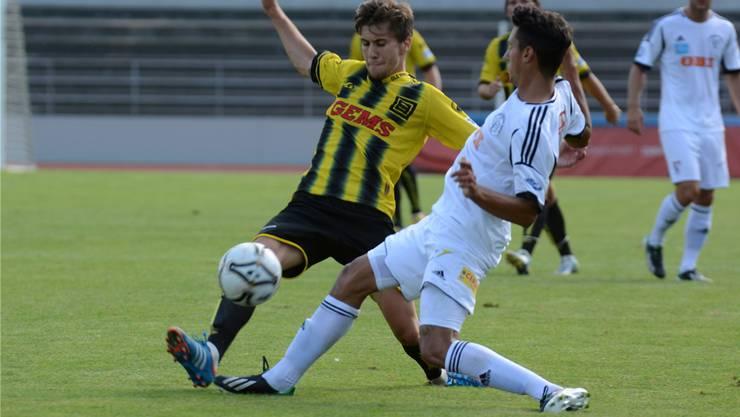 Dejan Jakovljevic wird neu beim FC Baden spielen.