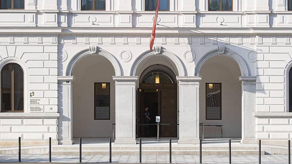 Das Bundesstrafgericht in Bellinzona TI urteilte am Mittwoch über einen mutmasslichen Unterstützer der Terrororganisation Islamischer Staat (IS). (Archivbild)