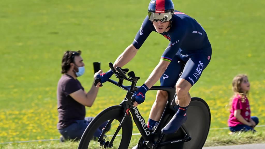 Der zweifache Zeitfahr-Weltmeister Rohan Dennis gewinnt den Prolog der Tour de Romandie