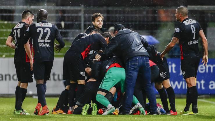 Die Erleichterung beim FC Aarau ist riesig.