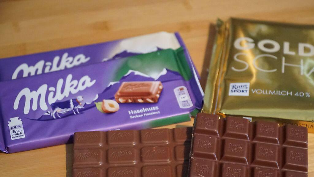 Zoff um lila Riegel: Milka streitet mit Londoner Snack-Hersteller